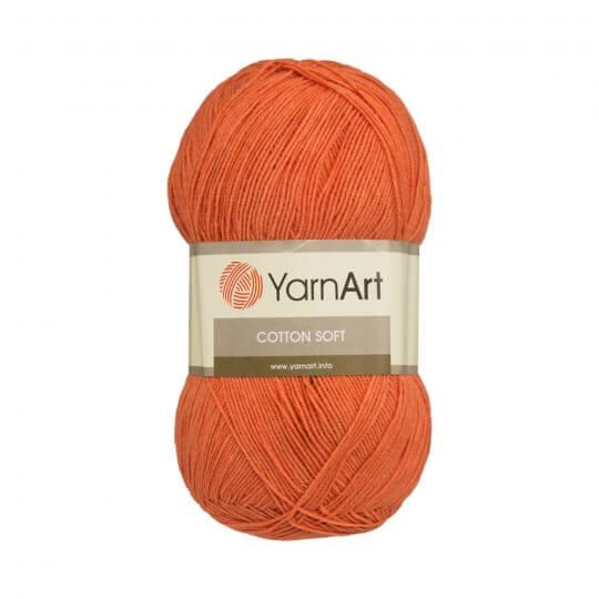 YarnArt Cotton Soft Turuncu El Örgü İpi - 24