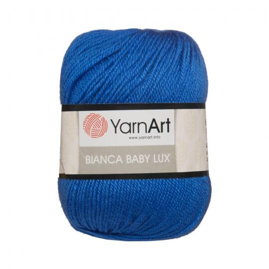 YarnArt Bianca Baby Lux Mavi Bebek Yünü - 360