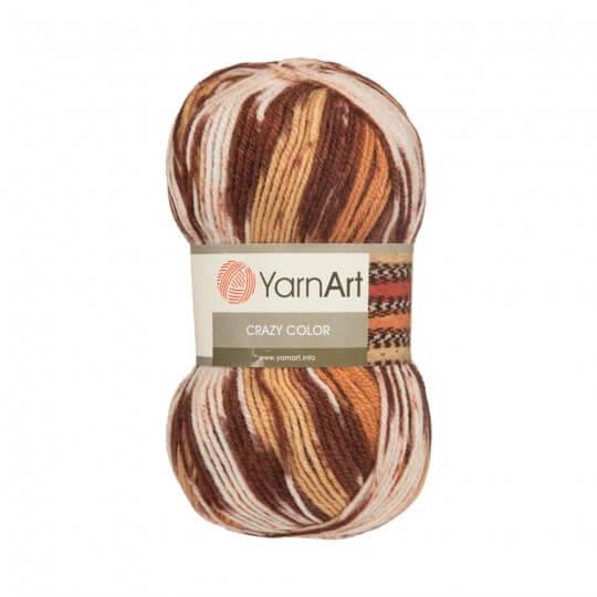YarnArt Crazy Color Ebruli El Örgü İpi - 138