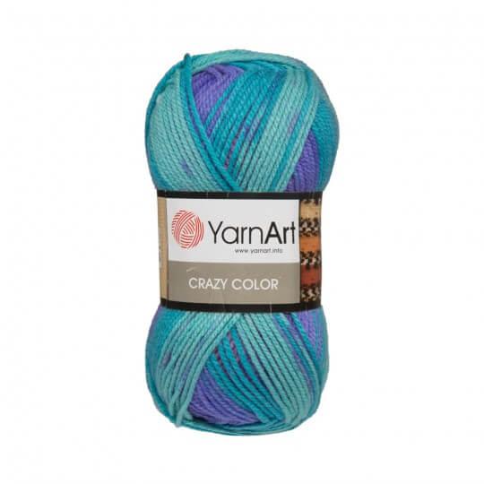 YarnArt Crazy Color Ebruli El Örgü İpi - 160