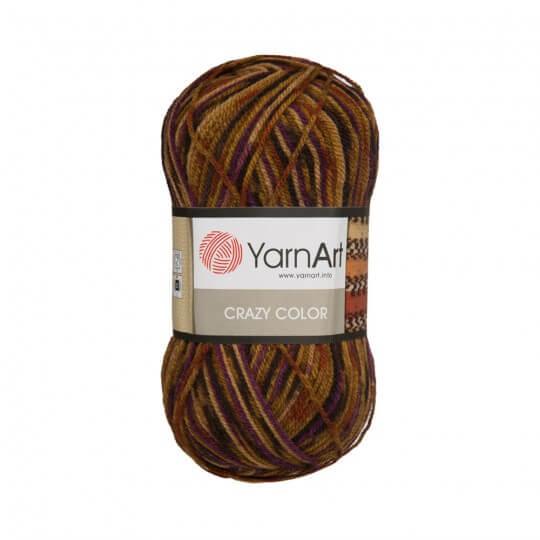 YarnArt Crazy Color Ebruli El Örgü İpi - 155