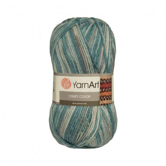 YarnArt Crazy Color Ebruli El Örgü İpi - 153