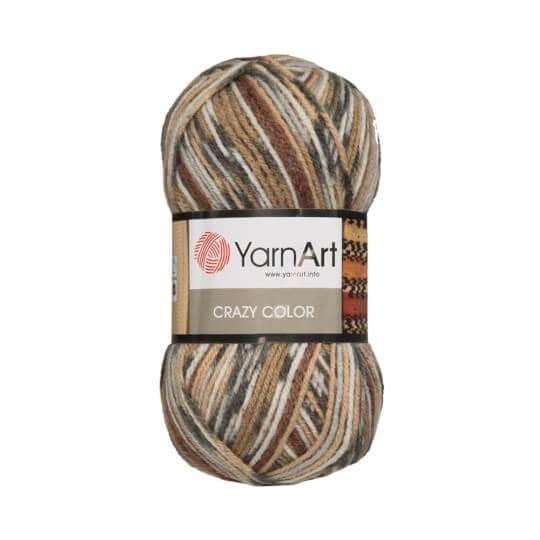 YarnArt Crazy Color Ebruli El Örgü İpi - 158