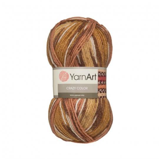 YarnArt Crazy Color Ebruli El Örgü İpi - 131