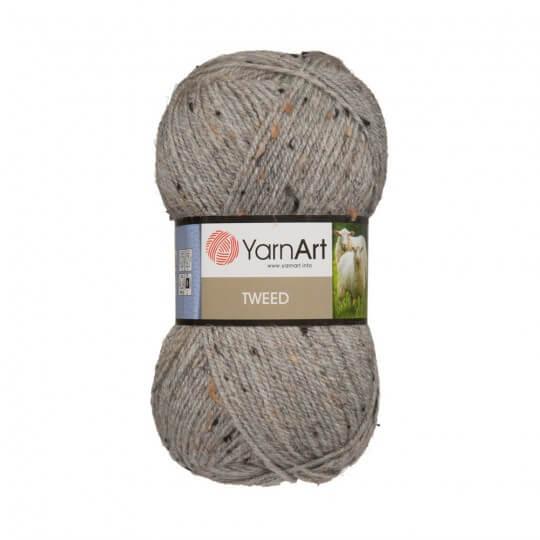 YarnArt Tweed Gri El Örgü İpi - 226