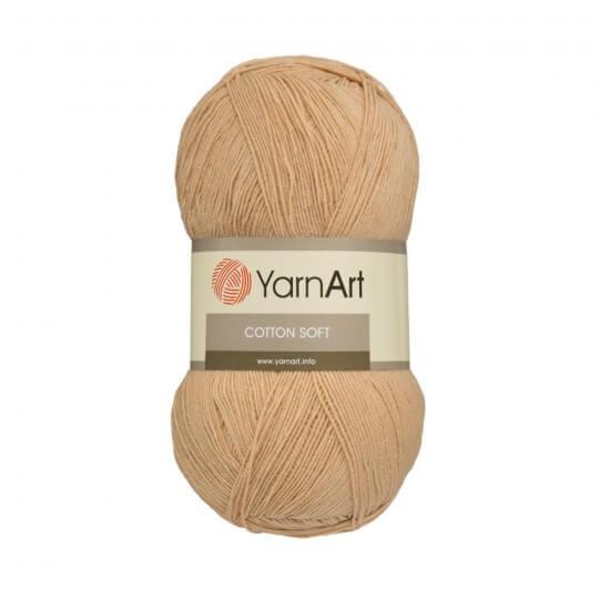 YarnArt Cotton Soft Açık Kahverengi El Örgü İpi - 07