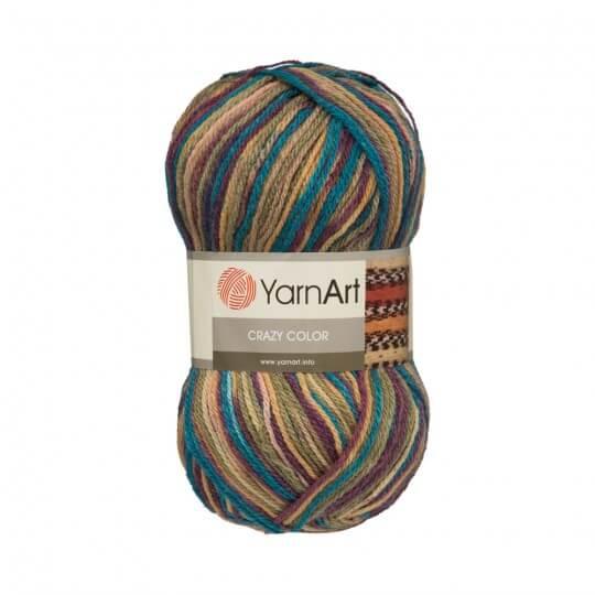 YarnArt Crazy Color Ebruli El Örgü İpi - 151