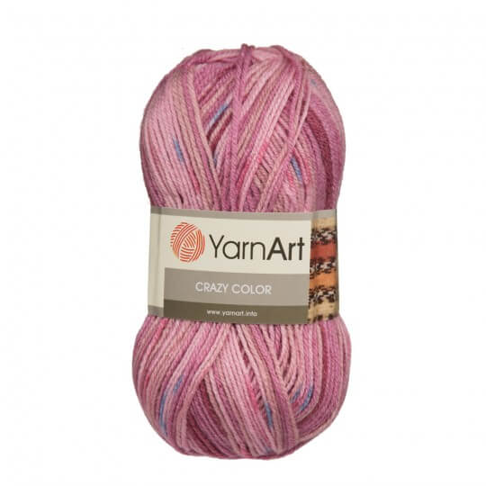 YarnArt Crazy Color Ebruli El Örgü İpi - 126