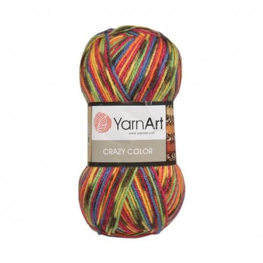 YarnArt Crazy Color Ebruli El Örgü İpi - 148