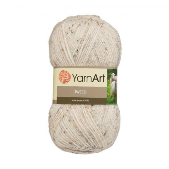 YarnArt Tweed Bej El Örgü İpi - 221
