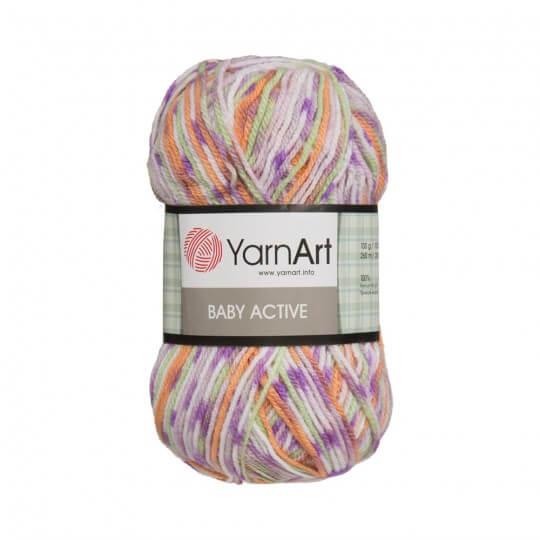 YarnArt Baby Active Ebruli Bebek Yünü - 643