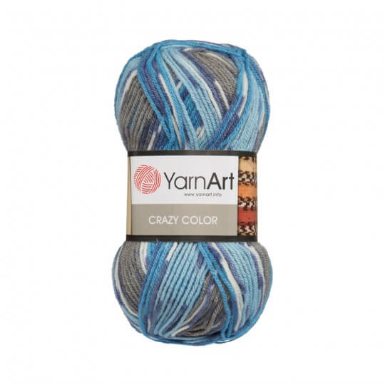 YarnArt Crazy Color Ebruli El Örgü İpi - 134