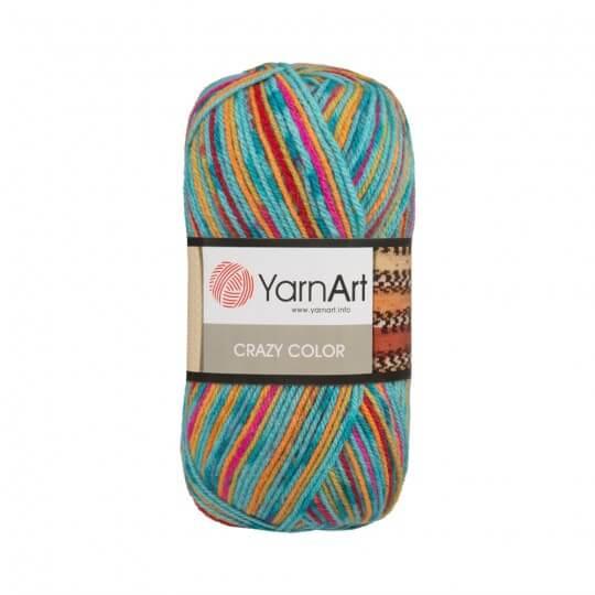 YarnArt Crazy Color Ebruli El Örgü İpi - 157