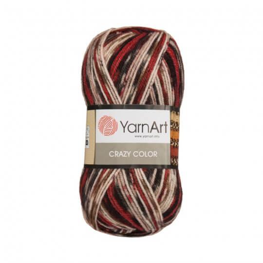 YarnArt Crazy Color Ebruli El Örgü İpi - 156