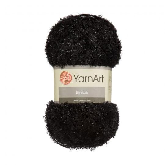 YarnArt Breeze 5'li Paket Siyah El Örgü İpi - 02
