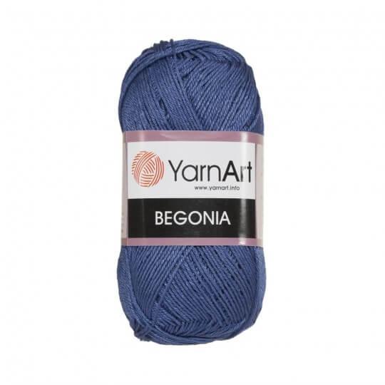 YarnArt Begonia 50gr Mavi El Örgü İpi - 0154