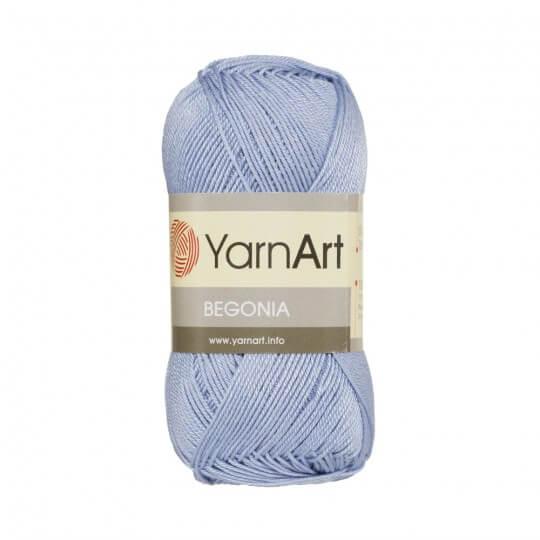 YarnArt Begonia 50gr Mavi El Örgü İpi - 0058