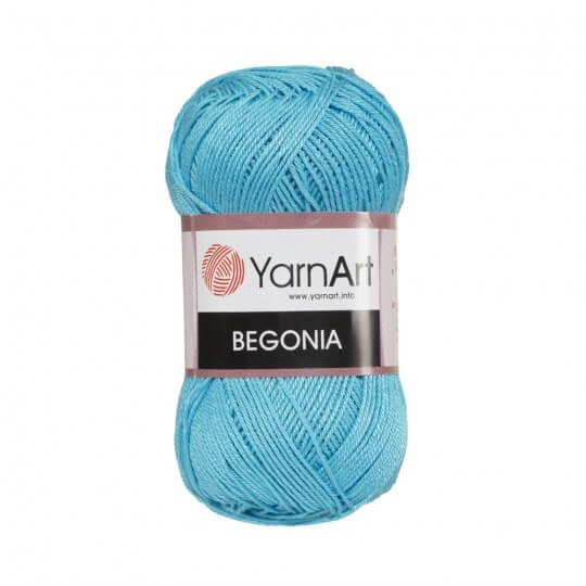 YarnArt Begonia 50gr Mavi El Örgü İpi - 0008