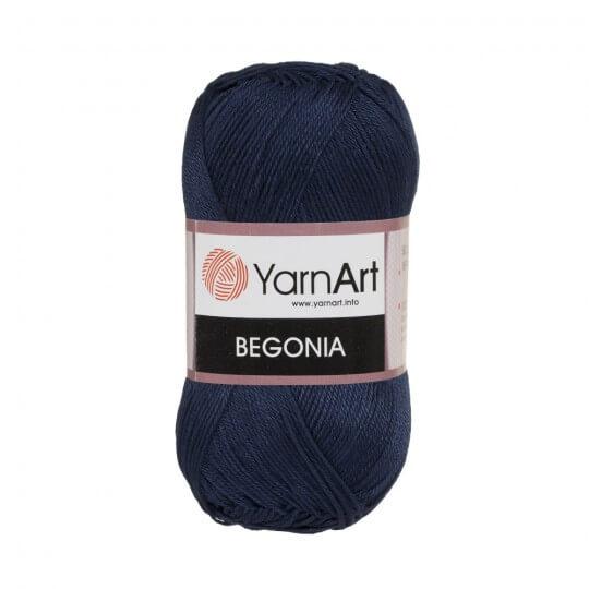 YarnArt Begonia 50gr Lacivert El Örgü İpi - 0066