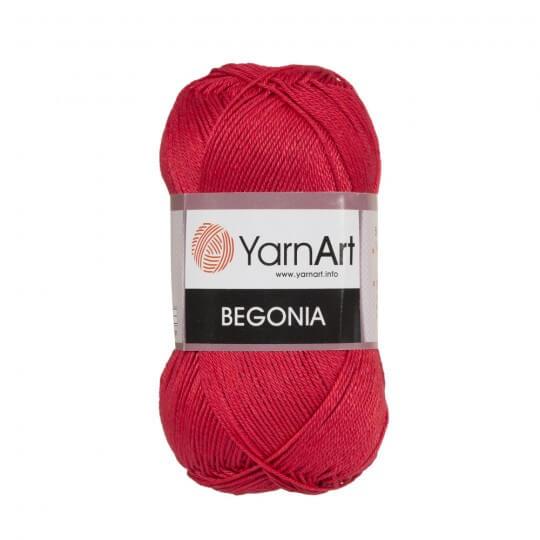 YarnArt Begonia 50gr Kırmızı El Örgü İpi - 6328