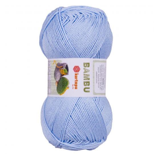 Kartopu Bambu Mavi El Örgü İpi - K575