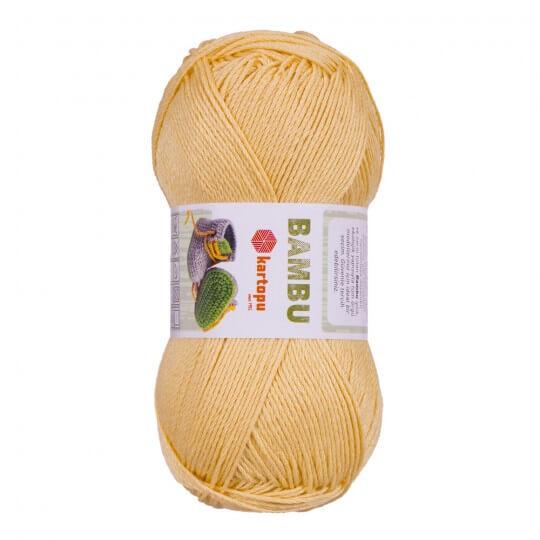 Kartopu Bambu Sarı El Örgü İpi - K157