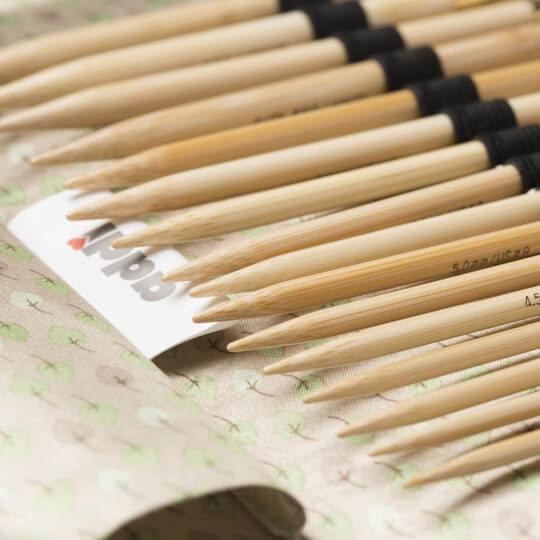 Addi Click Bamboo Değiştirilebilir Bambu Misinalı Şiş Seti - 550-7