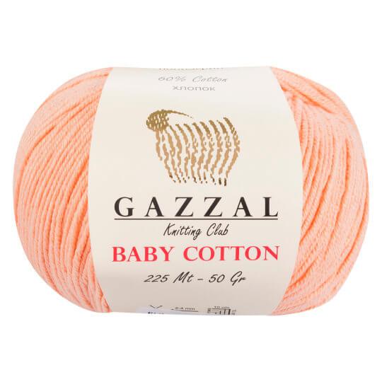 Gazzal Baby Cotton Yavruağzı Bebek Yünü - 3412