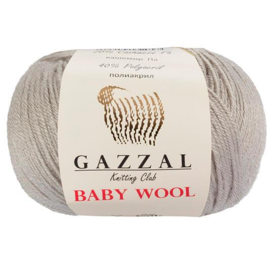 Gazzal Baby Wool  Gri Bebek Yünü - 817