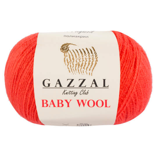 Gazzal Baby Wool Mercan Rengi Bebek Yünü - 819