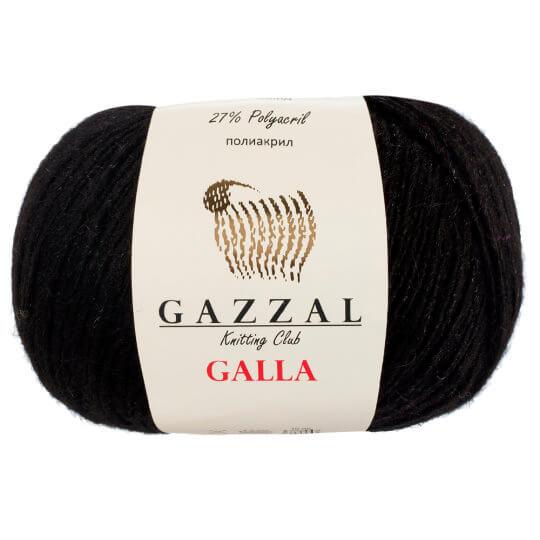Gazzal Galla Siyah El Örgü İpi - 55