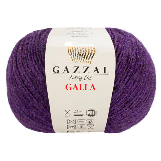 Gazzal Galla Mor El Örgü İpi - 45
