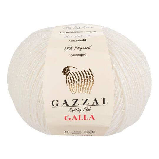Gazzal Galla Beyaz El Örgü İpi - 52