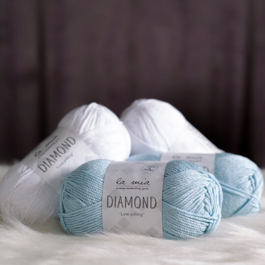 La Mia Diamond Koyu Kahverengi El Örgü İpi - L158
