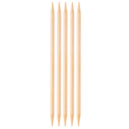 KnitPro Basix Birch Huş Ağacı 6.5mm 20cm Çorap Şişi - 35122