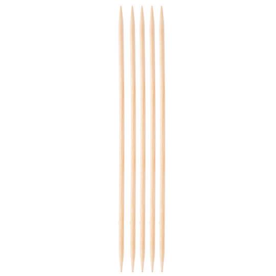 KnitPro Basix Birch Huş Ağacı 4mm 20cm Çorap Şişi - 35117