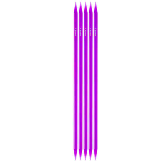 KnitPro Trendz 5mm 20cm Çorap Şişi - 51023