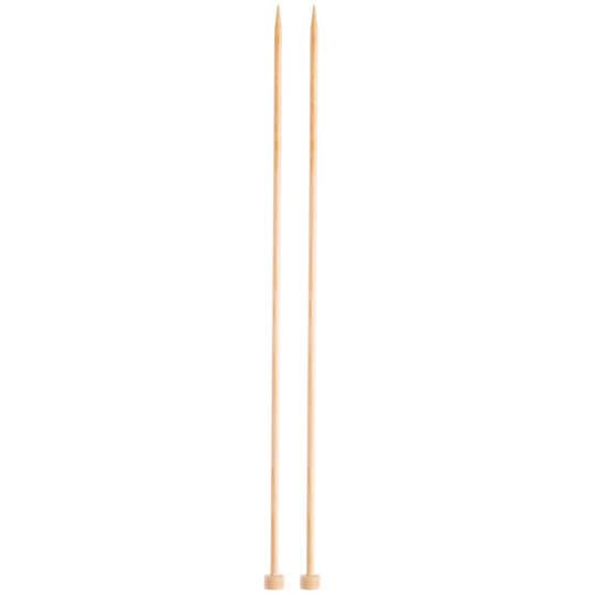 KnitPro Basix Birch Huş Ağacı 5mm 35cm Örgü Şişi - 35246