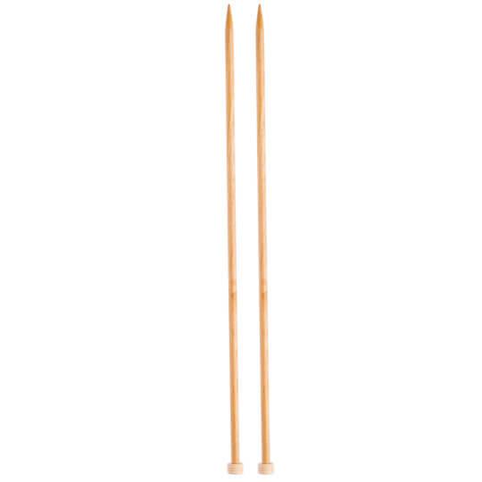 KnitPro Basix Birch Huş Ağacı 6mm 35cm Örgü Şişi - 35262
