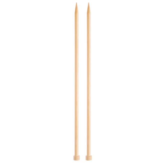 KnitPro Basix Birch Huş Ağacı 10mm 35cm Örgü Şişi - 35267