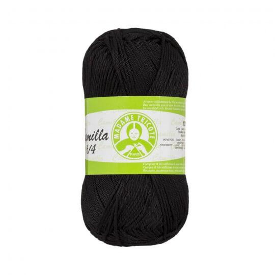 Örenbayan Camilla 50gr Siyah Örgü İpi - 9999 - 340