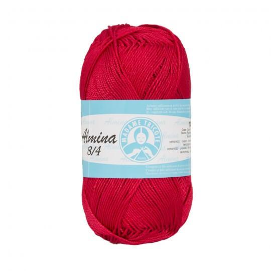 Örenbayan Almina Kırmızı El Örgü İpi - 5325 - 342