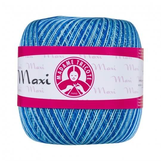 Örenbayan Maxi 10/3 Mavi Ebruli Dantel İpliği - 0199 - 328