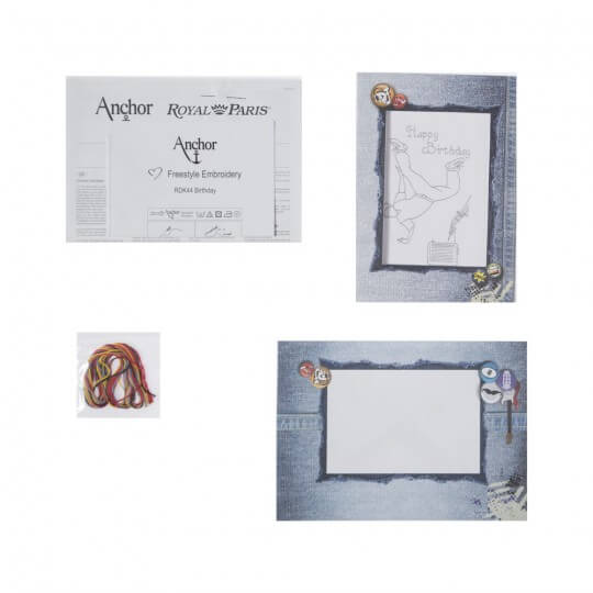 Anchor Craft Kit Doğumgünü Kart Kiti - RDK 44