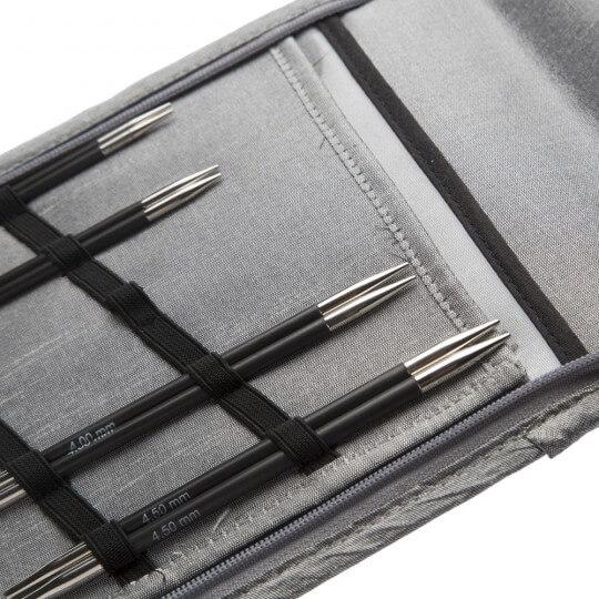 KnitPro Karbonz 20 cm Çorap Şişi Seti - 41615