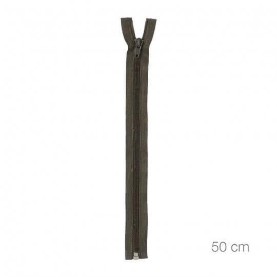 PRYM 50 cm Koyu Yeşil Yün Fermuarı - 478950542