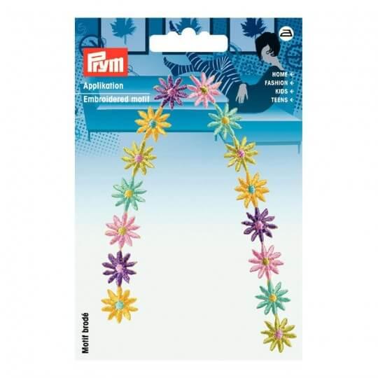 PRYM Renkli Çiçek Desenli Aplike - 925488