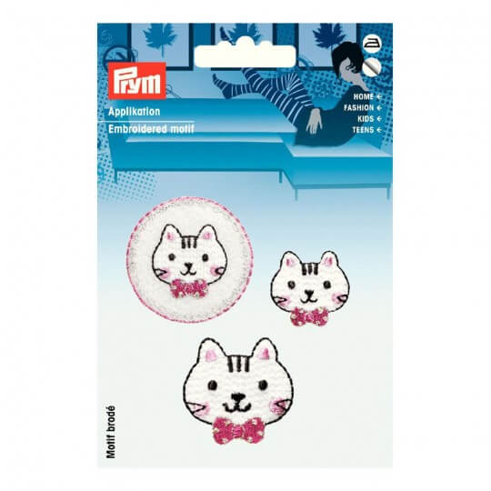PRYM Kedi Yüzleri Desenli Aplike - 925558