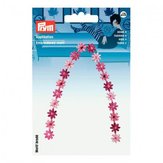 PRYM Pembe Çiçekler Desenli Aplike - 925487