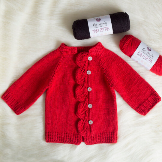 La Mia Baby Cotton Gri El Örgü İpi - L031